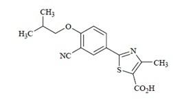 1526215701890 Uloric 菲布力 Feburic 菲布司他 Febuxostat 非布索坦 FDA官方说明书